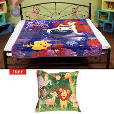 signature disney blanket single with freebie blankets homeshop18