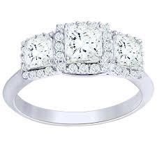 princess cut 1 69 ctw vs2 clarity color diamond platinum