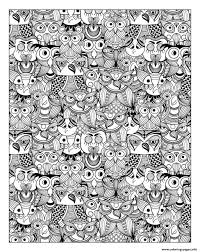 print zen cute cat coloring pages free printable inside