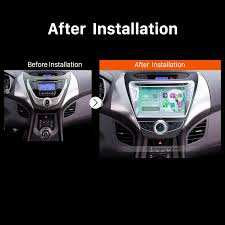 Aux Port Not Working In Car How To Replace A 2011 2012 2013 Hyundai Avante Car Radio Not