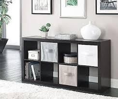 cube bookcase storage organizer 8 shelves book living room