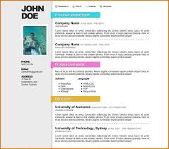 Resume Templates Free Word Free Word Resume Template Download Resume Template And