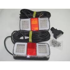 submersible led boat trailer lights led submersible trailer l boat marine l e d light brake car with 9m cable 5 jpg