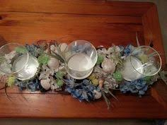 Seashell Centerpieces For Weddings by Beach Theme Reception Wedding Centerpiece Made From Wine Bottle