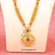 necklace pink stone images 1 gram long necklace 3 layer gold colour pink stone buy online hayagi jpg