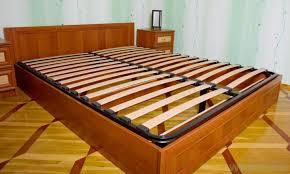 Beech Bed Frame Wooden Slat Bed Frame Black Size Bed And Shower