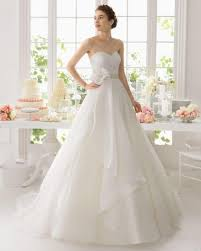organza wedding dress custom made a line white organza wedding dresses sweep with