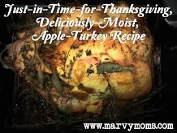 just in time for thanksgiving deliciously moist apple turkey