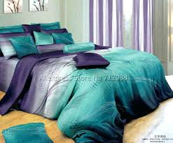 Teal And Grey Bedding Sets Teal Bedspreads And Comforters Teal And Purple Comforter
