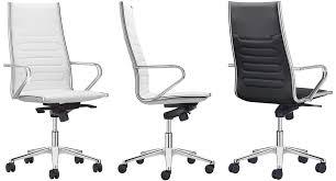 fauteuil de bureau direction fauteuil direction design cuir blanc noir et chrome class m