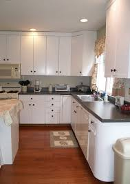 Painting Pressboard Kitchen Cabinets Paint Over 80s Laminate Cabinets Kitchen Pinterest Laminate