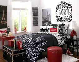 gold and silver home decor decorations fascinating image of red black and white bedroom