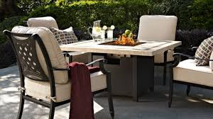 Patio Dining Sets With Fire Pits - patio furniture fire pit hinsdale youtube