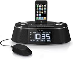 iluv imm178 vibe plus clock radio with built in ipod iphone dock