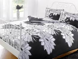 Bedding Cover Sets by Megan Duvet Cover Set Black White Free Uk Delivery Terrys Fabrics