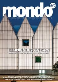 mondo arc august september 2015 issue 86 by mondiale publishing