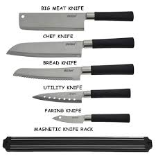 6pcs knife collection jj006 kitchen knife 11street malaysia