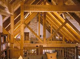 hand build architectural wood framework model house timber frame homes by hearthstone homes