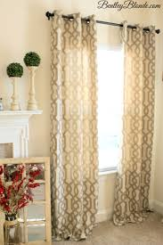 kirklands gatehill curtains taupe 95 inch bentleyblonde home