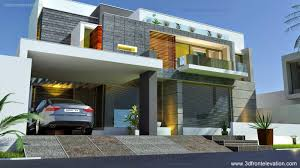 3d Home Design 5 Marla by Contemporary House Front