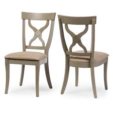 acme wallace dining table weathered blue washed acme furniture wallace weathered gray dining side chairs set of 2