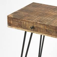 Modern Desk by Rustic Curved Industrial Modern Desk Woodwaves