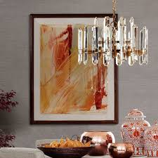 Clarissa Glass Drop Chandelier Chandeliers Crystal Glamorous Modern Buyer Select