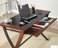 wood desk with glass top wood desk with glass top cherry reception whalen base veggievangogh