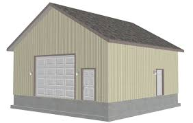 galid storage shed plans 20 x 24