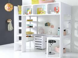bureau pour lit mezzanine lit avec rangement dessous lit mezzanine bureau pour lit avec