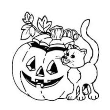 25 free printable halloween cat coloring pages