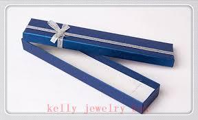 bracelet jewelry gift box images Wholesale 48pcs lot 20x4x2cm dark blue bowknot jewelry box cute jpg