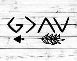 god is greater than the highs and lows etsy