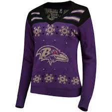 light up sweater s purple baltimore ravens light up v neck sweater