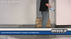 Rock Solid Garage Floor Reviews by Rocksolid Floors Garage Prep Youtube