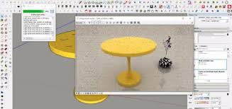 make a table in sketchup part 2 i design u0026 technical studio