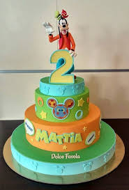 marvelous goofy 2nd birthday cake between the pages