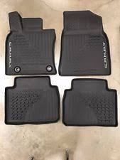 toyota camry oem floor mats genuine toyota 2018 camry floor mat liners rubber all weather oem