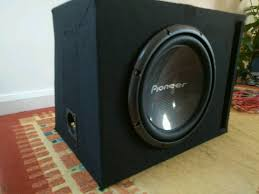 pioneer photo box pioneer chion series pro 2000w ts w3003d4 subwoofer in slot