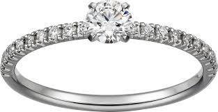 cartier solitaire rings images Crn4744300 etincelle de cartier ring platinum diamonds cartier png