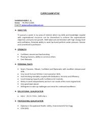 Juvenile Detention Officer Resume Objective Safety Officer Resume Headline Resume Senior Manager In