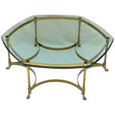 Vintage Glass Top Coffee Table 20 Best Vintage Glass Top Coffee Tables