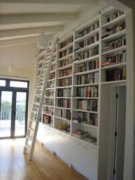 door library shelves with ladder bookshelves with ladders home
