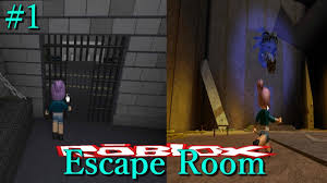 trying to escape a prison u0026 a scary temple roblox escape room ep