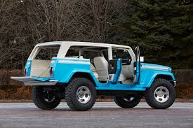jeep teal jeep reveals 2015 moab concept vehicles