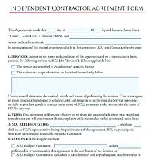 independent contractor agreement form 11 subcontractor