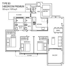 the rivervale condo floor plan the terrace ec floor plan type b3 the new launch property