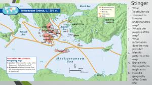 Greece On The Map by Ancient Greece Part I Stinger 1 What Vocabulary Do You Need To