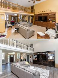 house renovation before and after oakstone homes before after honey oak home renovation katalina girl