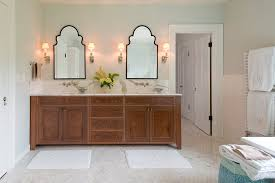Bathroom Frameless Mirrors Frameless Mirror In Bathroom Traditional With Double Vanity 96